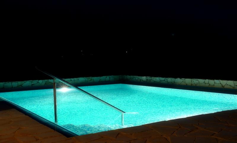 Pool 'by night'