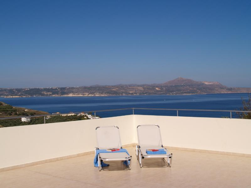 The Roof Terrace at Villa Azure
