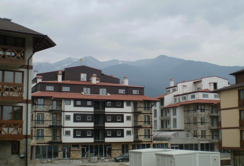 Views from the apartment to the mountain