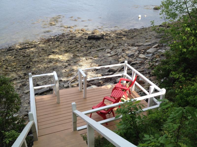 Lower Deck at High Tide