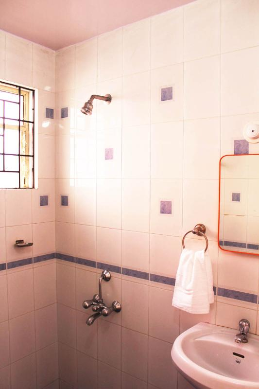 first floor ensuite with shower