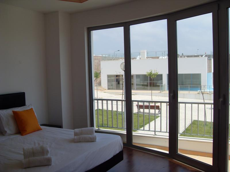 Master Bedroom with Swimming Pool in Background
