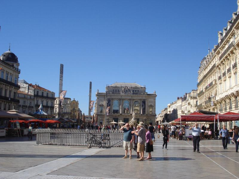 Montpellier central square