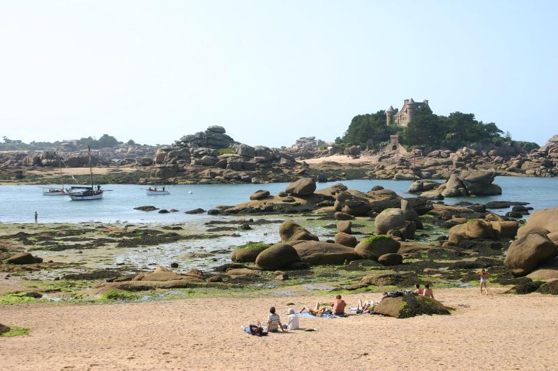 Beach at Ploumanac'h