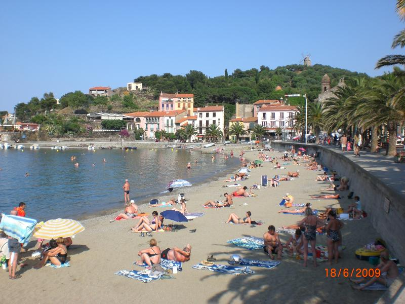 One of three beautiful beaches to enjoy in central Collioure just minutes away