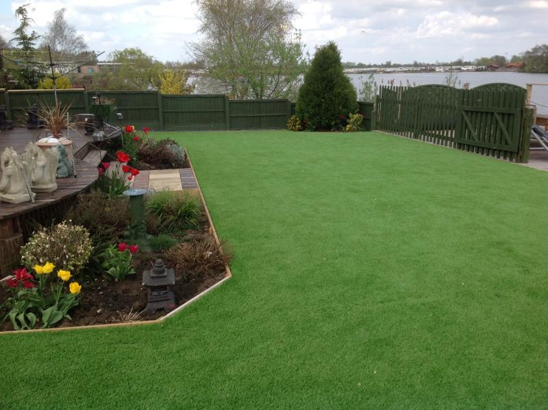 New grass area for this year
