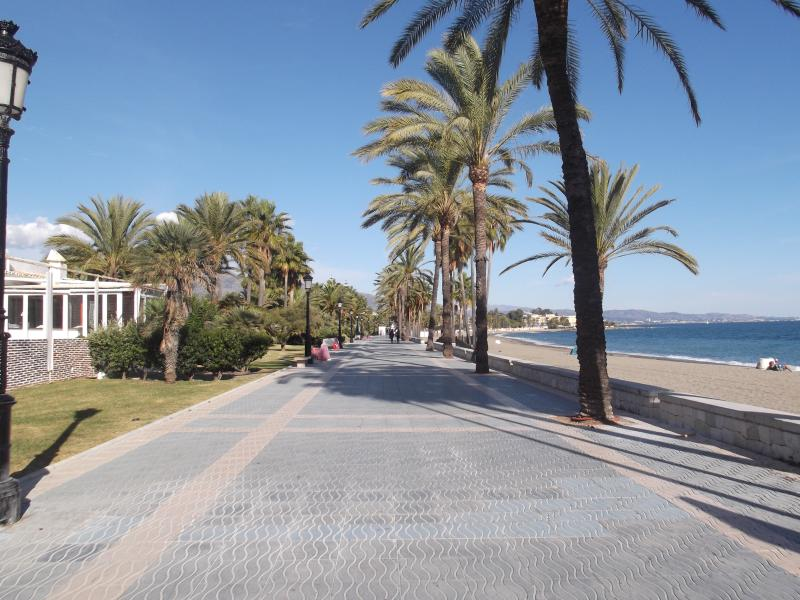 5 minutes walk from the villa,  with the promenade for walks
