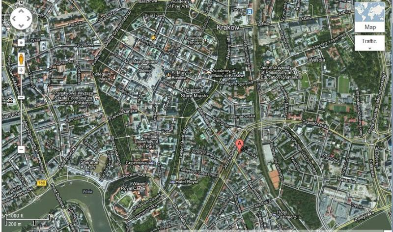 Central location - between Old Town and Kazimierz