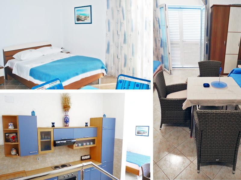 Sky Blue Studio Apartment, vacation rental in Okrug Gornji