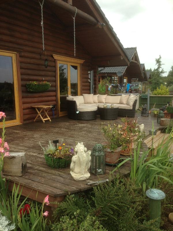 top decking and new out side seating