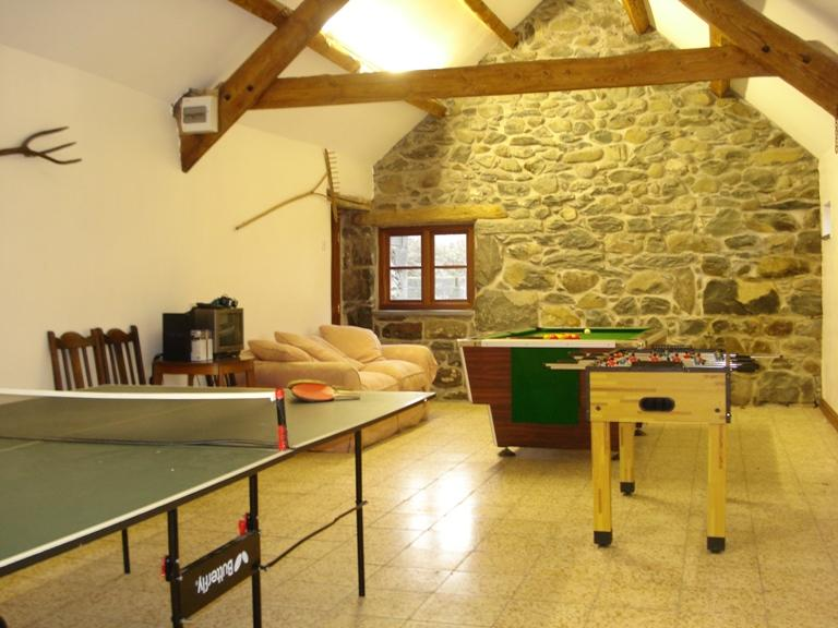 Games room close by