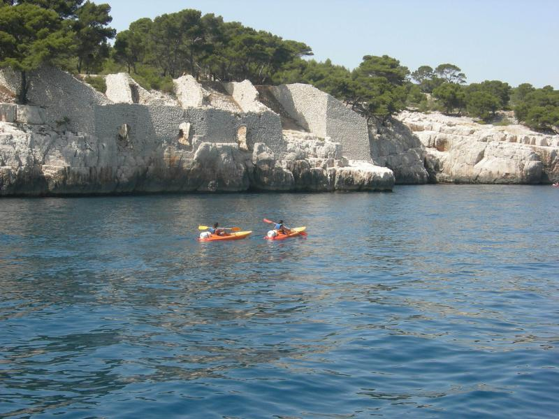 Organization of Kayak trips in the national park