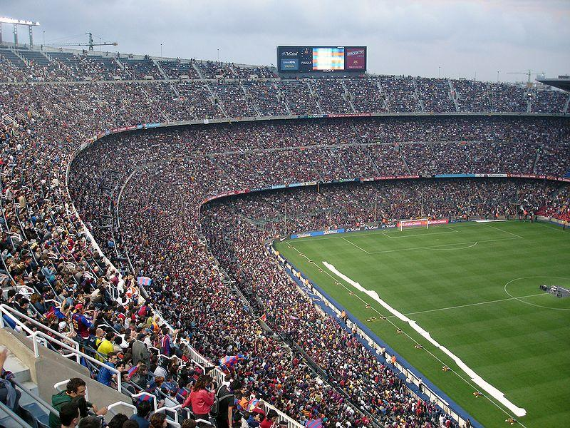 FC Barcelona stadium at only 90km