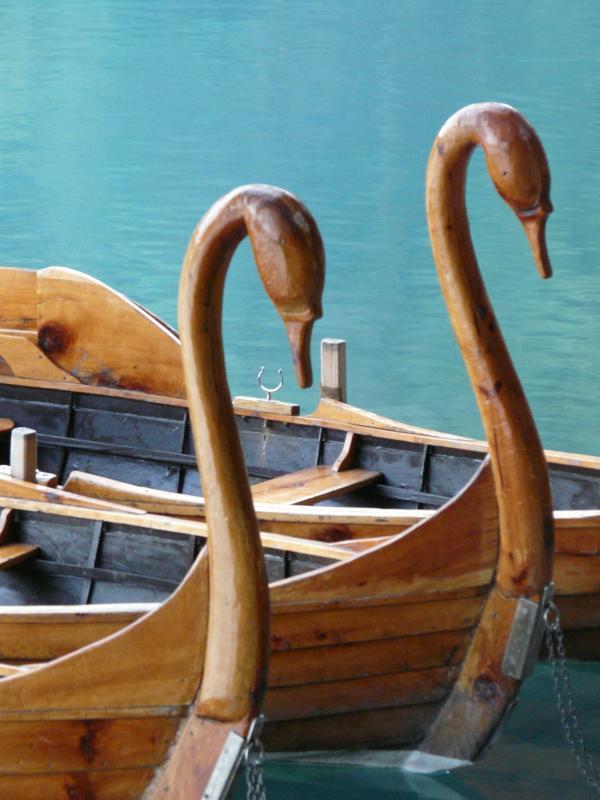 Take an elegant rowing boat at enchanting Lake Bled - an easy day trip