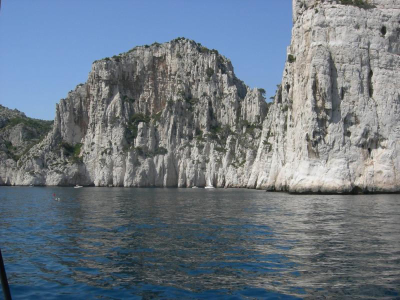 The calanques national park