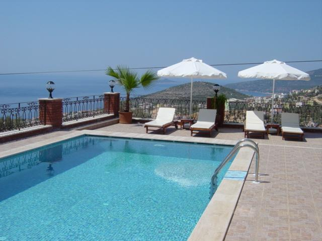 View from pool terrace