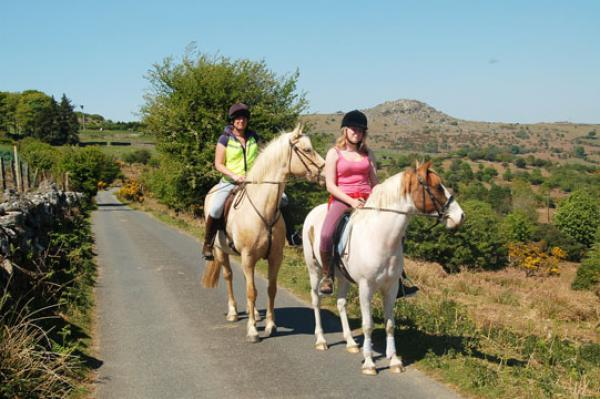 Equitación en Bodmin Moor