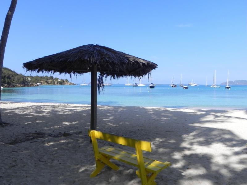 Quiet moments on Honeymoon Beach