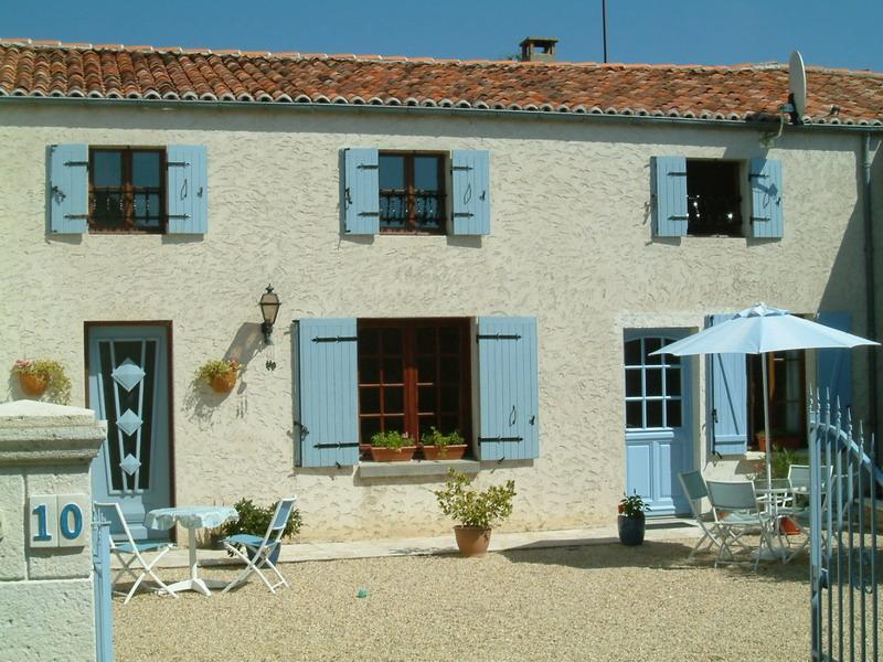 Gite in Bagnizeau, location de vacances à Les Touches de Perigny