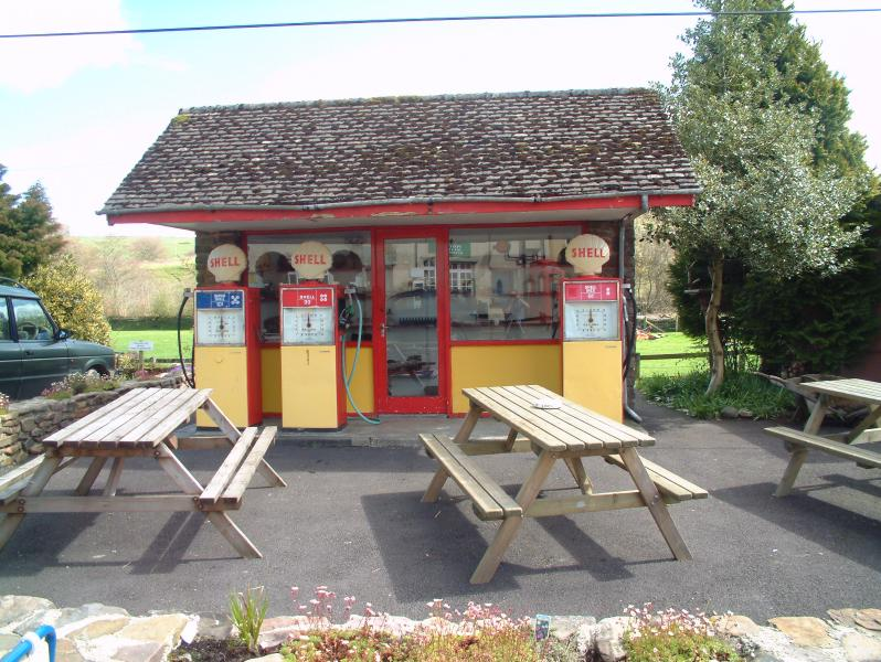The Classic 1950's Petrol station in the heart of Withypool