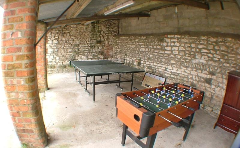 Outside games room