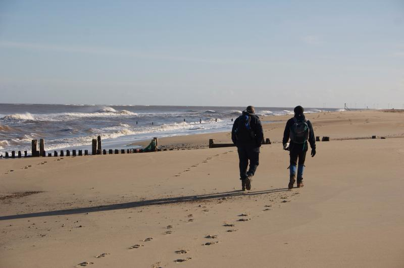 Miles of sandy deserted beaches close to cottage