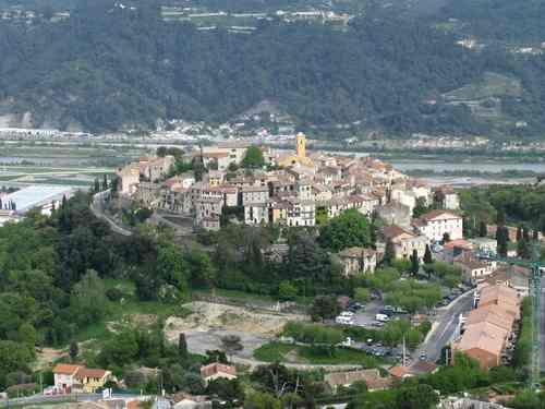 The village of Gattieres