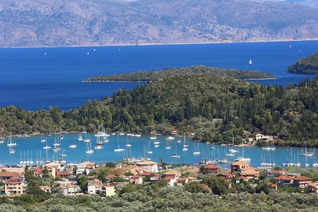 Kores luxury villa with amazing view, casa vacanza a Vafkeri