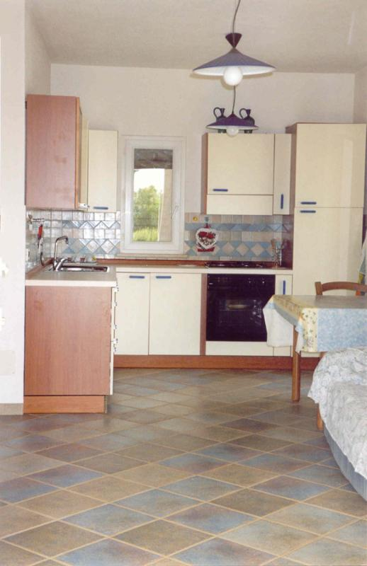 the kitchen is fully equipped and spacious