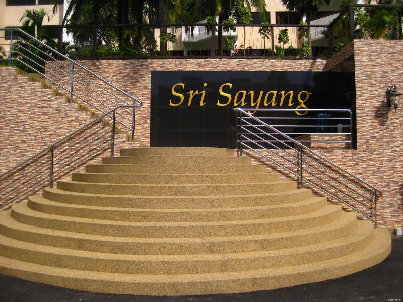 Step up  to Sri Sayang