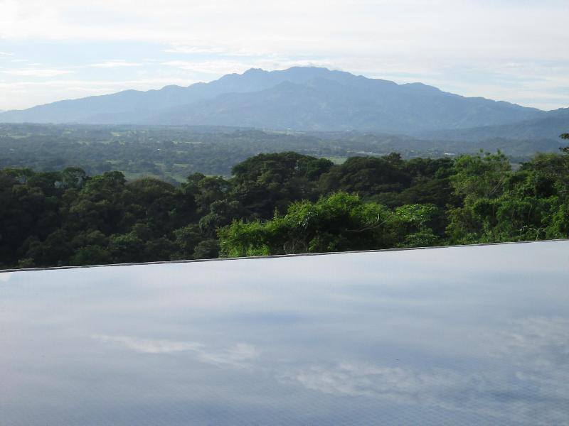 Morning view of the Pacific Range