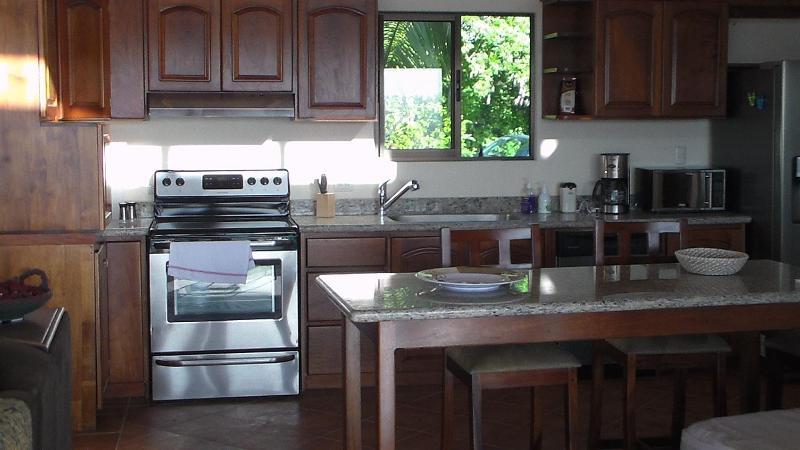 The kitchen, closer