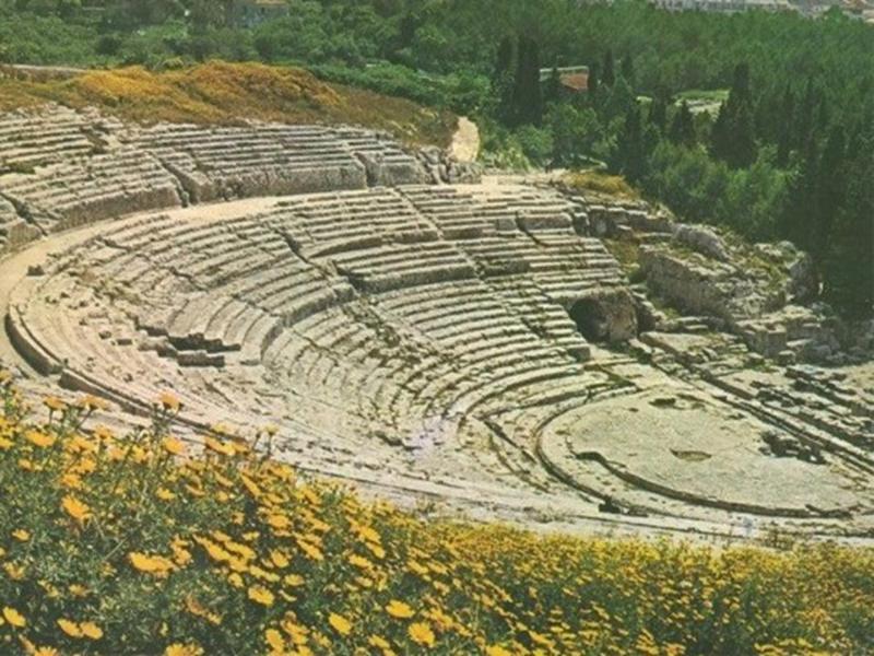 Syracuse Théâtre grec, Km. 38