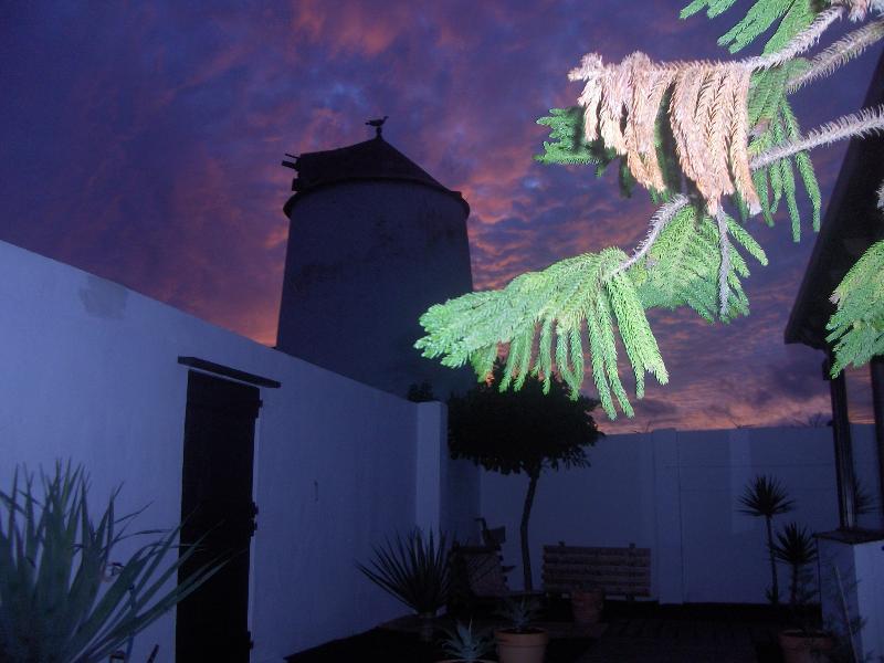 La habitación se encuentra en Finca Molino de Tiagua.