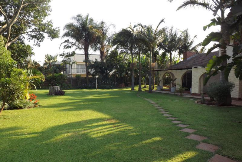 View of landscaped yard