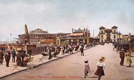 Pier and Esplanade early 1900's