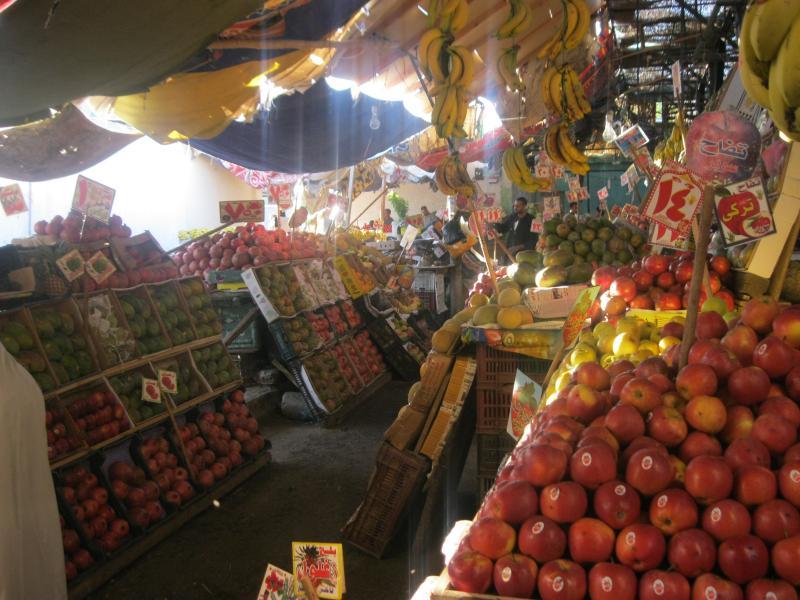 Traditional old market Dahar