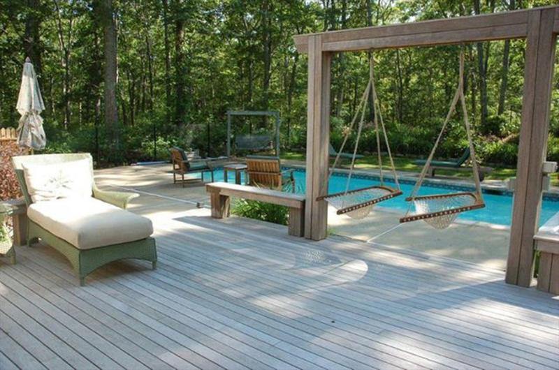 Deck Overlooking Pool