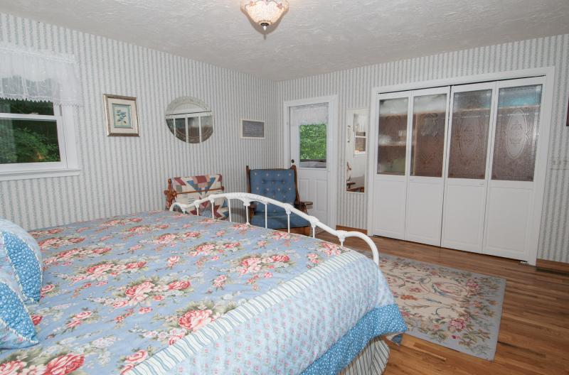 Master Bedroom with Deck Access