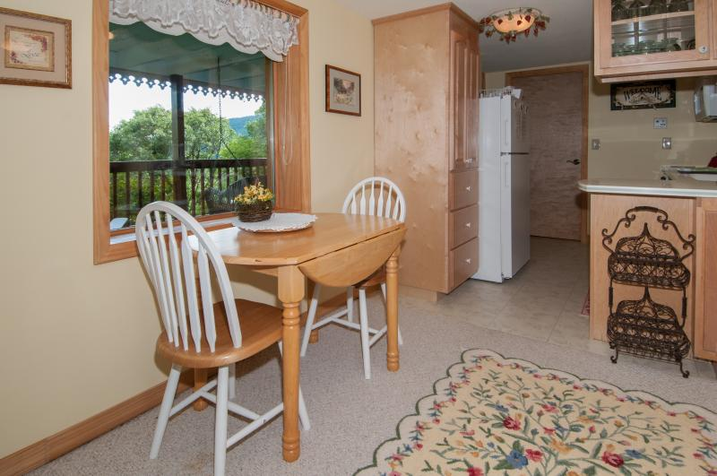 Private Lower Level Dining Area with Kitchen