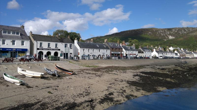 Fishing village of Ullapool