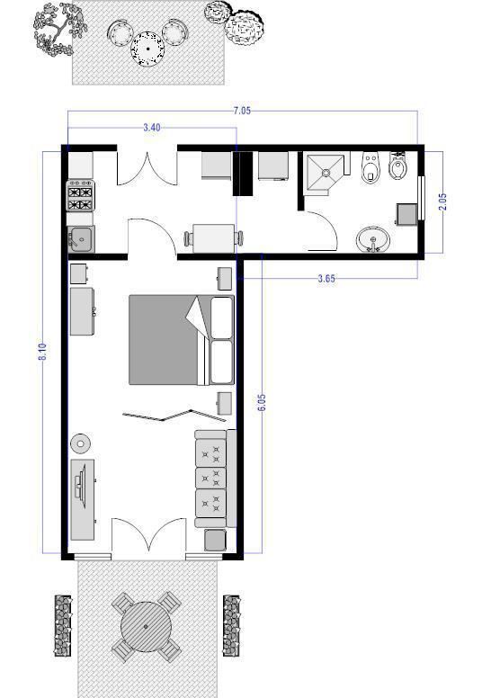 CARDELLINO apartment floor plan