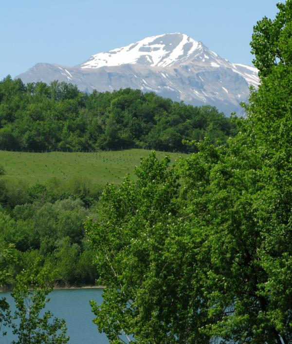 The Sibillini Mountains National Park - a short drive away!
