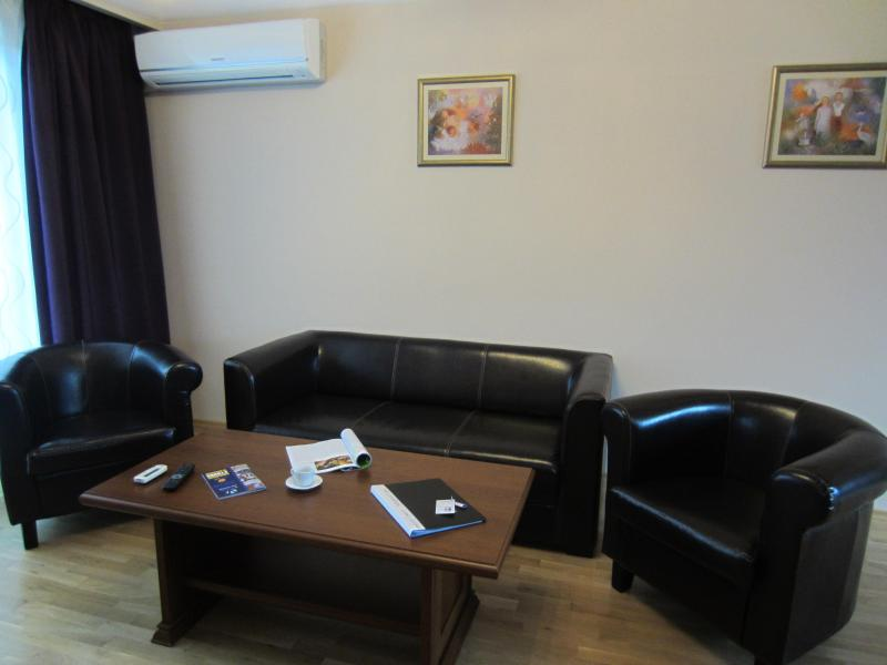 Deluxe Two bedroom apartment on Denkoglu 2 str, holiday rental in Sofia