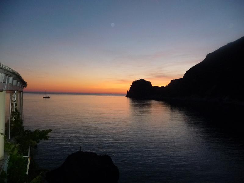Superb sunset Ermones Golf Hotel Restaurant