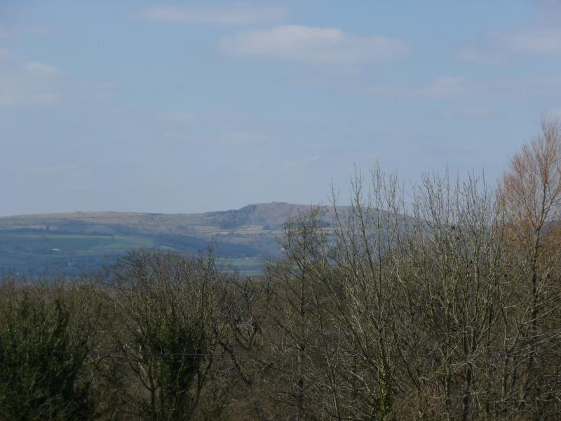 Bodmin moor from The Shippen.