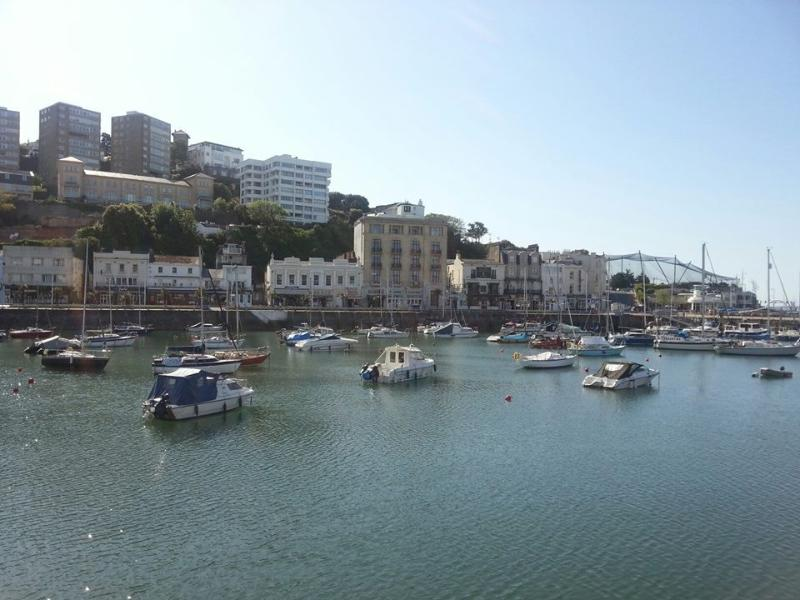 Torquay Harbour on a beautiful summers day