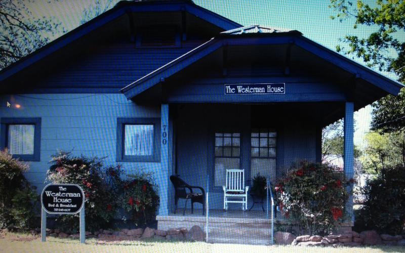 The 1920's Craftsman-Style Bungalow, home of The Westerman House Bed and Breakfast.