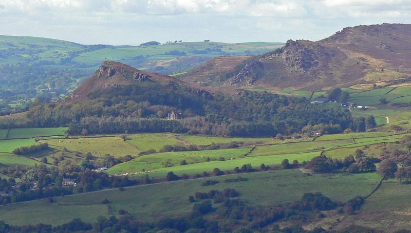 Hen Cloud from Morridge, Staffordshire Peak Distirct - short drive from Croft House Barn, Waterfall