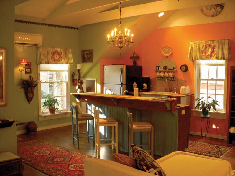 Keuken en Bar zitplaatsen